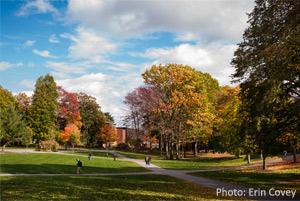 skidmore college in autumn