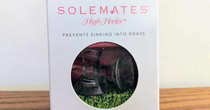 a box of solemates for shoes