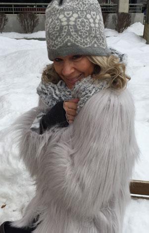 fur coat from spoken boutique