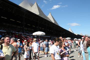 Saratoga Race Course Grandstand