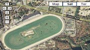 Saratoga Race Course Map