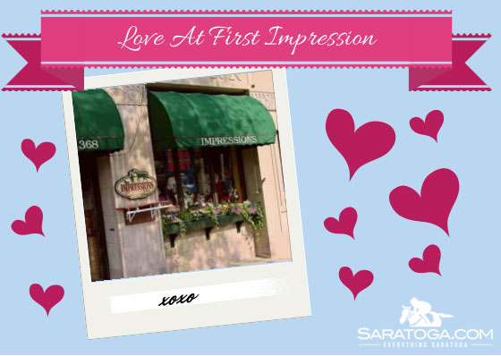 Saratoga Valentine's Cards: Love at First Impression