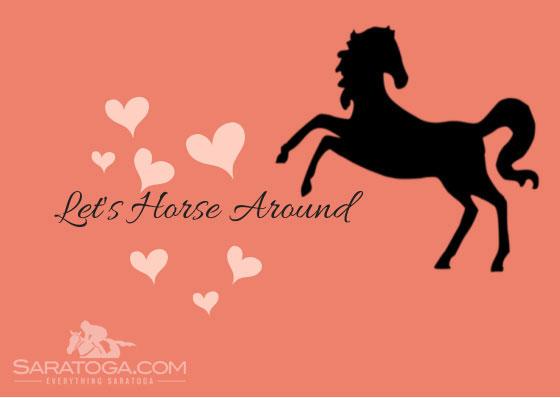 Saratoga Valentine's Cards: Let's Horse Around