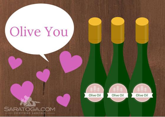 Saratoga Valentine's Cards: Olive You