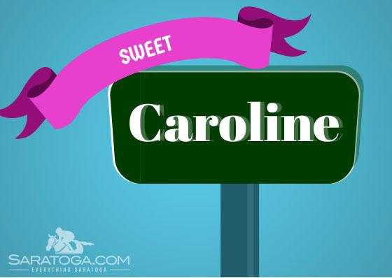 Saratoga Valentine's Cards: Sweet Caroline (street)