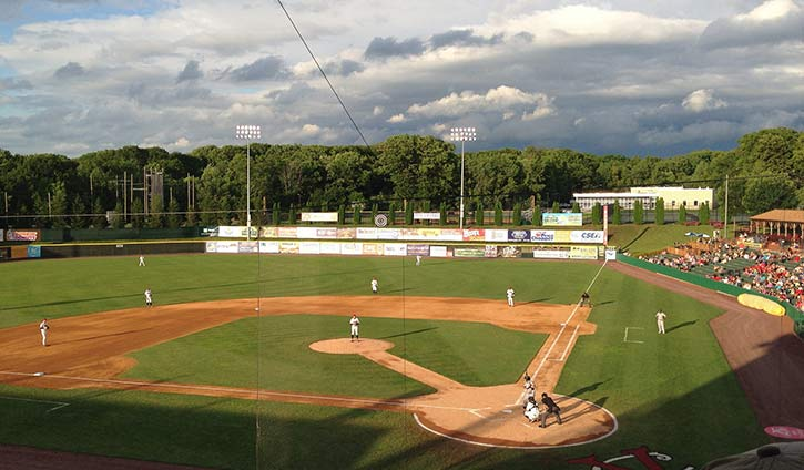 ValleyCats baseball game