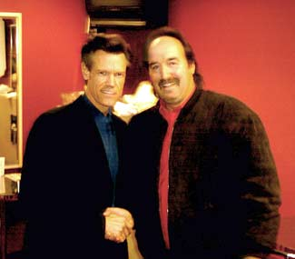 Comedian Vinnie Mark with Singer Randy Travis