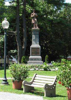 saratoga springs statue