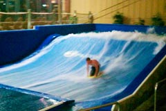 wave simulator at Great Escape Lodge Indoor Waterpark