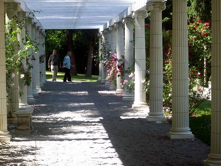yaddo rose garden walk way