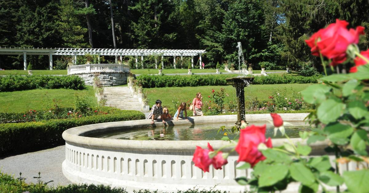 people at yaddo gardens