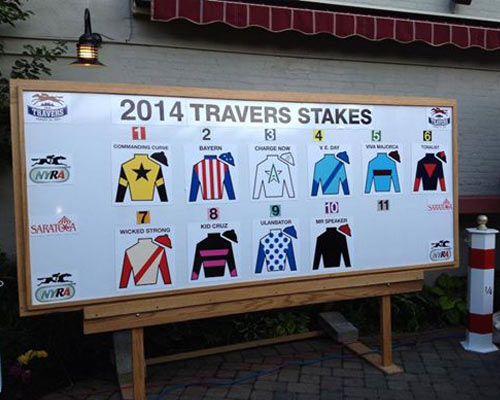 travers stakes draw for 2014