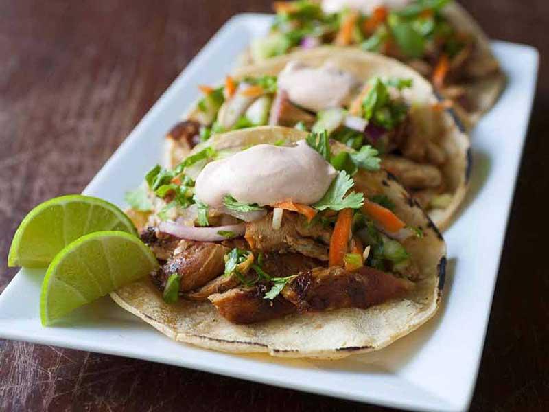 Korean tacos from Kraverie