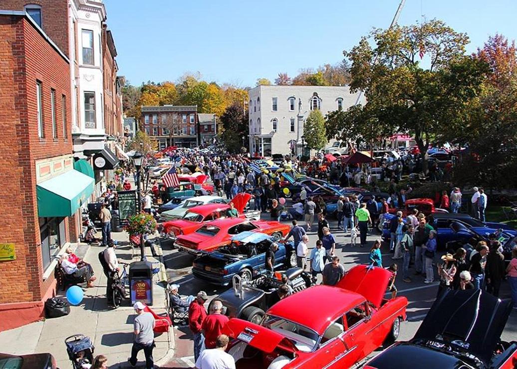 Downtown Saratoga Car Show