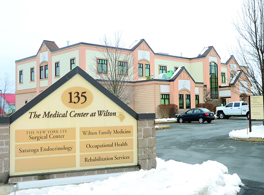 This is the Wilton office of the Center for Occupational Health and Safety. The agency helps businesses throughout the region maintain quality workplace health care. ©2017 Saratoga Photographer.com
