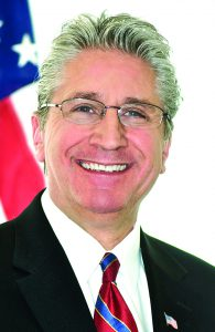State Senator Jim Tedisco represents the 49th District that includes part of Saratoga County.
