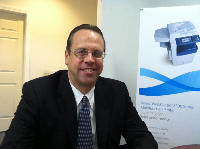 Rick Gallup, owner of Document Solutions of the North Country, says multi-function printers are valuable to workers who 'don't operate from 9 to 5 out of a cubicle, attached to their computers.'