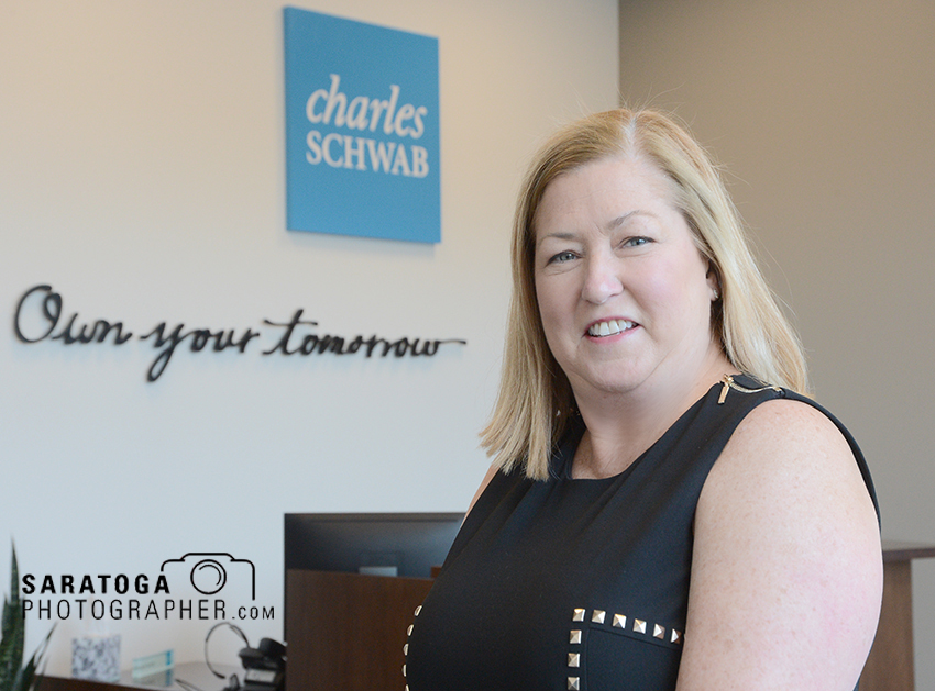 Maureen Parker, a financial services professional with 19 years of experience in investment management, is the branch leader of the new Charles Schwab office in Saratoga Springs. ©2017 Saratoga Photographer.com