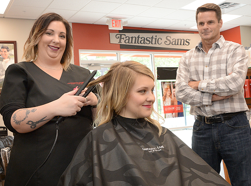 Businessman Opens His Third Fantastic Sams Hair Salon Within