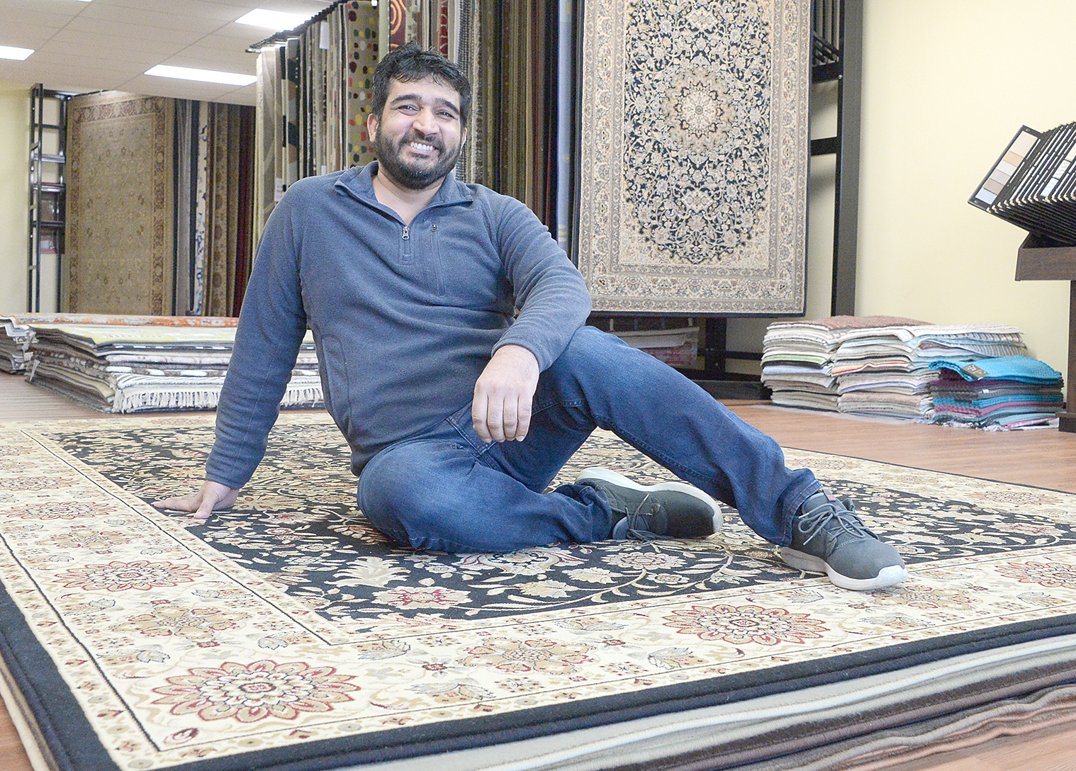 Lincoln Rug Gallery Opens In Halfmoon Specializing In Wood Flooring