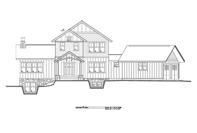 rendering of a home built by sas builders