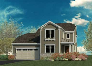 rendering of a home built by belmonte builders