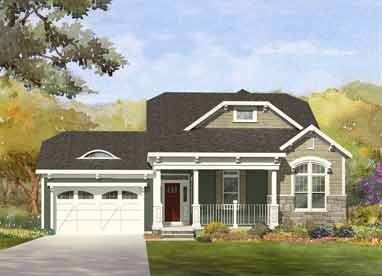 rendering of a home built by malta development