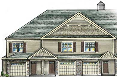 rendering of a home built by rj taylor builders