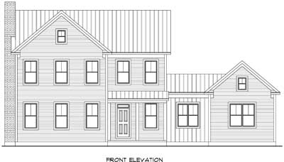 rendering of a home built by terrace homebuilders