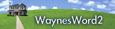 WaynesWord2: A Saratoga Blog By Wayne Perras
