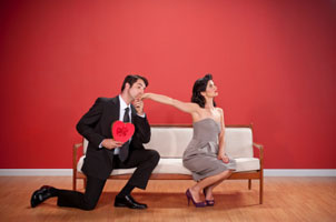 Valentine's Day couple