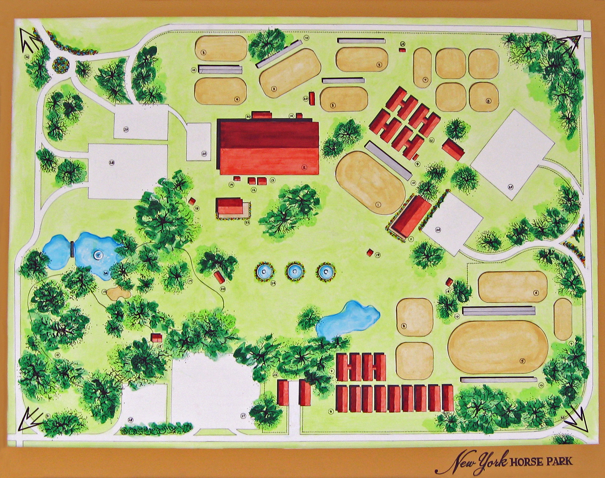 saratoga horse park