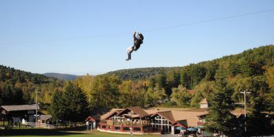 adventure park zipline