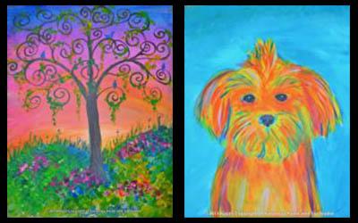 Paint & Sip Studio in Saratoga Springs!