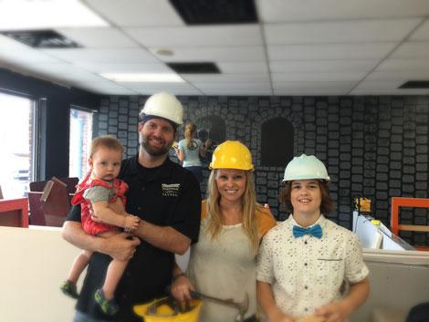 Saratoga's Kids Castle construction