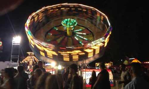 Saratoga County Fair ride