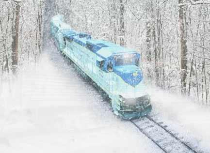 Take A Scenic Ride On The Saratoga Snow Train To Ski Or