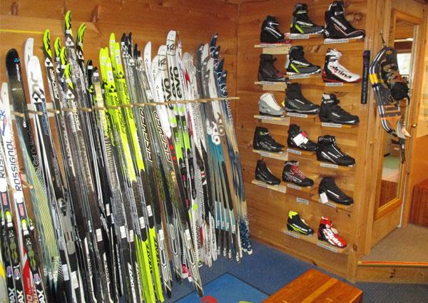 ski gear inside
