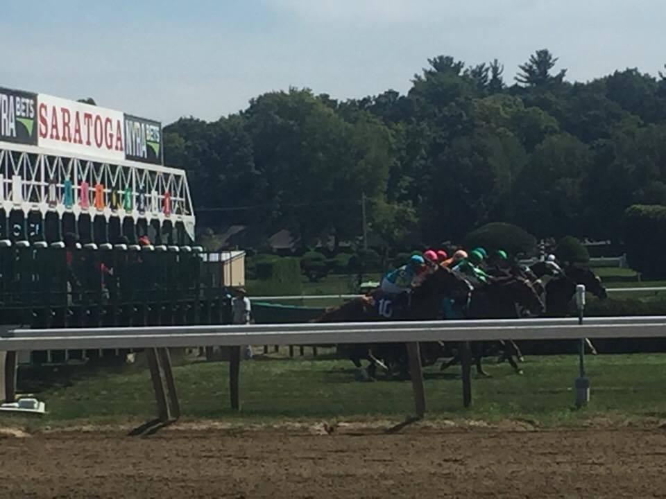 Race at Saratoga 2016