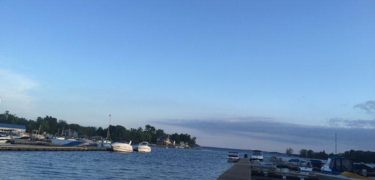 Marina on Saratoga Lake