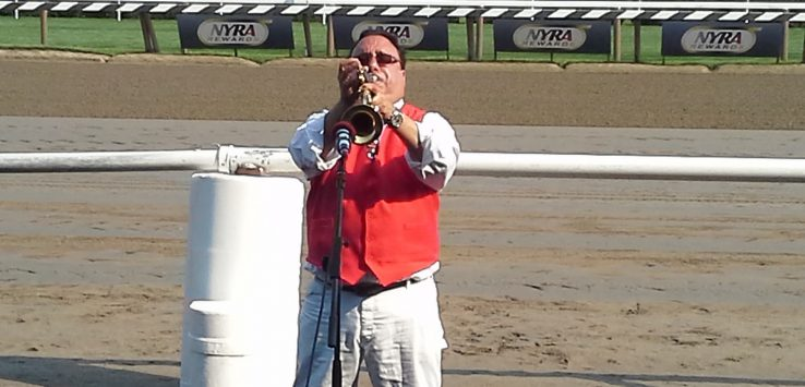 bugle at saratoga race track