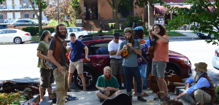 buskers in saratoga springs