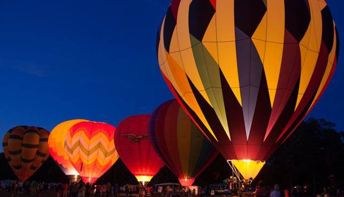 saratoga balloon launch