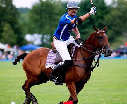 a polo player on a horse