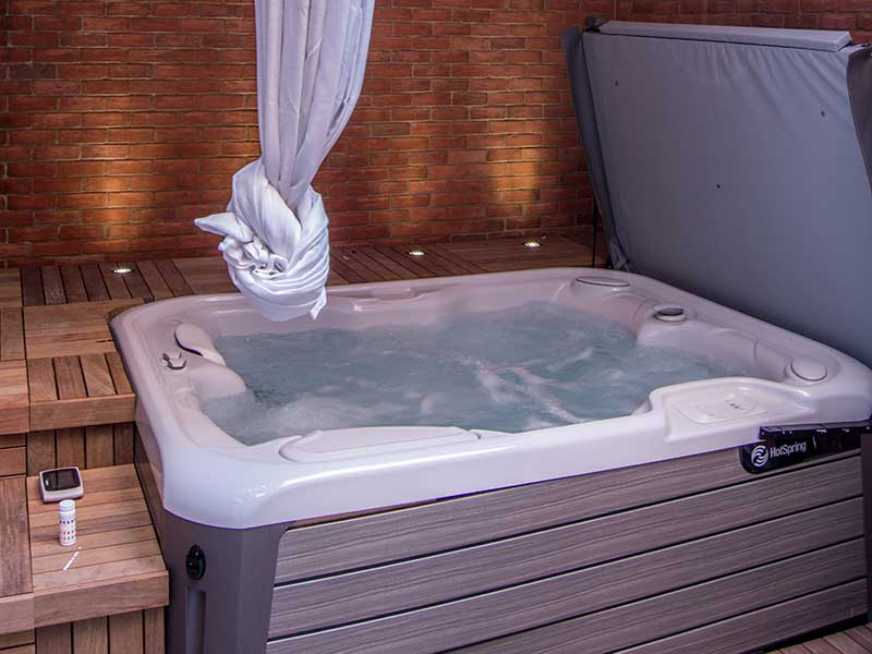 The Adelphi Hotel's Polaris Suite's Private Hot Tub