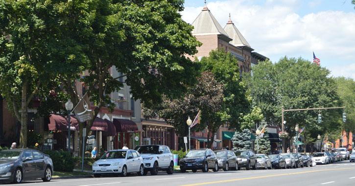 Broadway in Saratoga