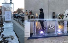 ice bar at adelphi hotel