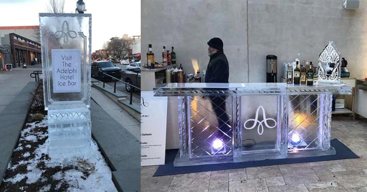 ice bar at adelphi hotel