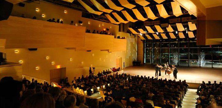 large indoor concert space