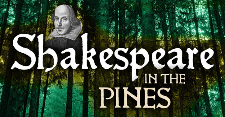 shakespeare in the pines logo